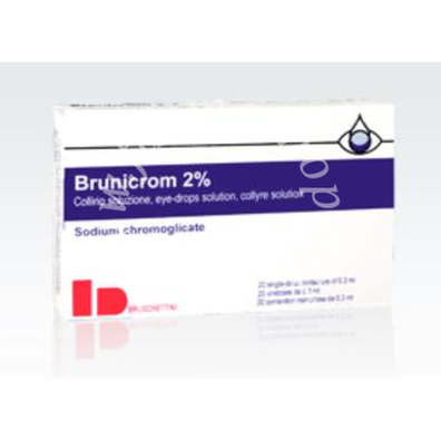 Brunicrom Collirio 20Cont 0, 3ml 2%
