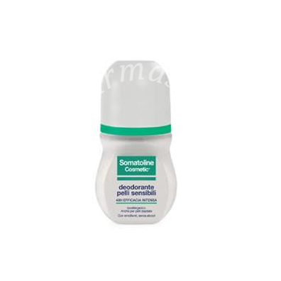 Somatoline cosmetic deodorante pelle sensibile roll on 50ml